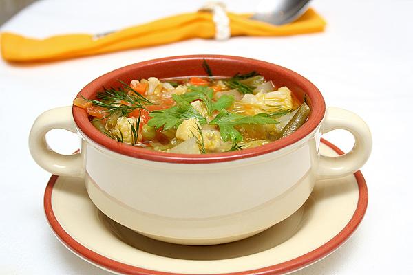 Готовим суп вкусно.
