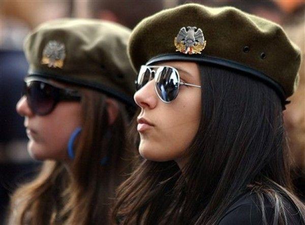 army-girls